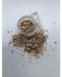 Beige crushed sea shell