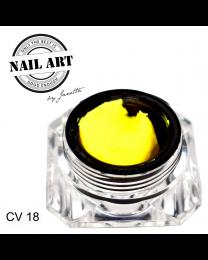 3 D Gele - Carving Gel Gul 18