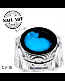 3 D Gele - Carving Gel Aqua 19