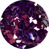 Diamond Shape Purple Large