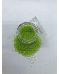 Lime grøn caviar beads