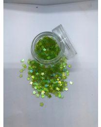 Lysegrønne Blomster