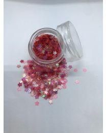 Mørk Pink Blomster