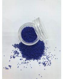 Mørkeblå Caviar Beads