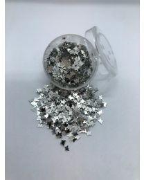 Metal Sommerfugl Sølv