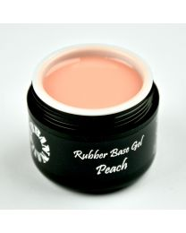 Rubber Base Gel Peach 5 ml