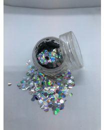 Sølv Hexagon