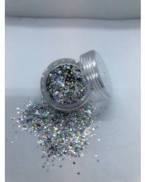 Sølv Mini Hexagon