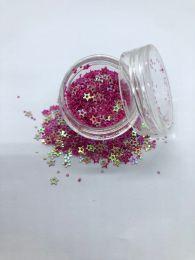 Stjerner med hul Pink